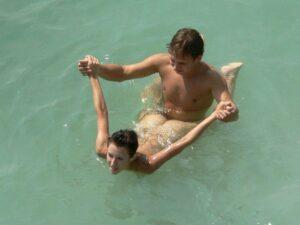 seks u vodi sex na moru